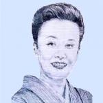 美空ひばり の似顔を描いた作品