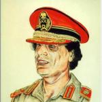 カダフィ(Qaddafi)を描いた作品