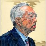 昭和天皇の似顔を描いた作品