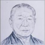 第45代 大相撲横綱 若乃花 を描いた作品