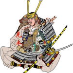 木曽 義仲(きそ よしなか)をイラストで描いた作品