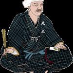 黒田 官兵衛(くろだ かんべえ)をイラストで描いた作品