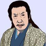 藤田まことを描いた似顔絵