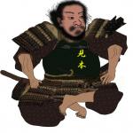 柴田 勝家(しばた かついえ)をイラストで描いた作品