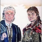 シークフリードとロイを描いた作品