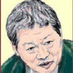 立花 隆(たちばな たかし)の似顔を描いた作品