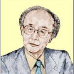 内橋 克人(うちはし かつと)さんの似顔を描いた作品