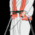 宮本武蔵(みやもとむさし)をイラストで描いた作品