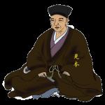 千利休(せんのりきゅう)をイラストで描いた作品