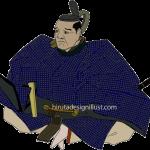 黒田長政をイラストで描いた作品