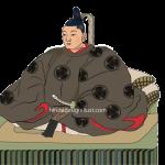 結城秀康をイラストで描いた作品