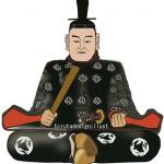 今川義元(いまがわよしもと)をイラストで描いた作品