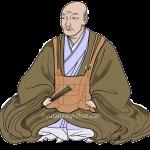 大友宗麟(おおともそうりん)をイラストで描いた作品