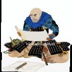 山本勘助(やまもとかんすけ)をイラストで描いた作品